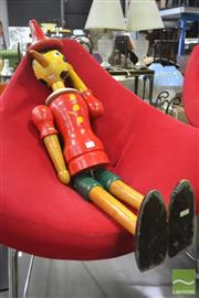 Sale 8326 - Lot 1224 - Large Articulated Pinocchio