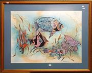 Sale 8678 - Lot 2056 - Jan Bolce - Aquarium View
