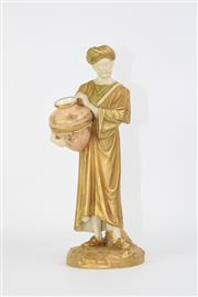Sale 8749 - Lot 10 - Royal Worcester Figure Of A Man