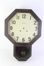 Sale 8810 - Lot 13 - An Ansonia Wall Clock (From Department of Agriculture Building)