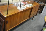 Sale 8251 - Lot 1064 - Quality Austin Suite Sideboard with sliding doors