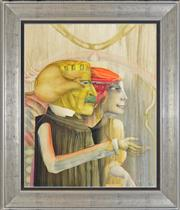 Sale 8282A - Lot 39 - Paul Wunderlich (1927 - 2010) - Two Figures 86 x 69.7cm