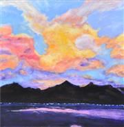Sale 8411A - Lot 5083 - Stanley Perl (1942 - ) - Sunset, 2014 61 x 61cm