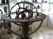 Sale 8451B - Lot 88 - Compass Armillary by William Upjohn (collection from Habitat & Style, Woollahra)
