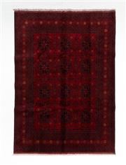 Sale 8800C - Lot 44 - An Afghan Khal Mohammadi 100% Wool Pile Natural Dyes, 204 x 290cm