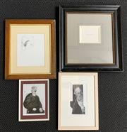 Sale 8998 - Lot 2050A - Group of (4) Artworks by Peter Fay incl. Print Collages (3) & Pencil on Paper -
