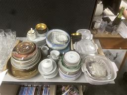 Sale 9101 - Lot 2425 - Large Collection of Ceramic Wares incl. Plates, Cups, etc.