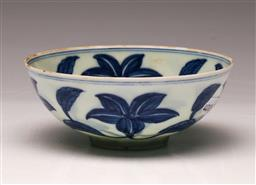 Sale 9122 - Lot 148 - A Fine Porcelain Blue And White Chinese Bowl (Dia 12cm)