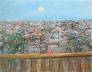 Sale 8266 - Lot 579 - Hugh David Sawrey (1919 - 1999) - Roof Tops of Paris 122 x 153cm