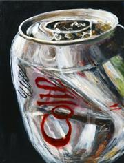 Sale 8349A - Lot 33 - Stanley Perl (XX - ) - Coke Can, 2015 60.5 x 45.5cm