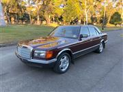 Sale 8576V - Lot 4 - 1985 Mercedes-Benz 380SE Sedan                                                       Reg: Unregistered...