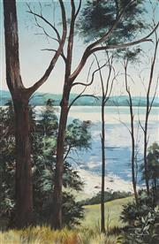 Sale 8870 - Lot 2059 - Marion Schumacher - View to the Sparkling Sea 75 x 49cm