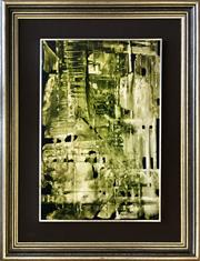 Sale 9015J - Lot 110 - Michael Franklin Taylor (Australian 1933-) - Untitled Abstract