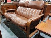Sale 8765 - Lot 1071 - Danish Deluxe 2 Seater Lounge