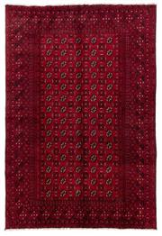 Sale 8800C - Lot 46 - An Afghan Tekke Hand Knotted Wool Rug, In A Hardy Weave Of Camel Foot Design, 200 x 295cm