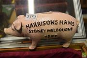Sale 8497 - Lot 2352 - Cast Iron Ham Money Box