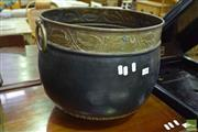 Sale 8523 - Lot 1088 - Large Decorative Pot