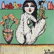 Sale 9062A - Lot 5020 - Yosi Messiah (1964 - ) - Life a Blossom 102 x 102 cm (total: 102 x 102 x 4 cm)