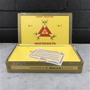 Sale 9042 - Lot 630 - Montecristo No.5 Cuban Cigars - box of 25, stamped May 2016