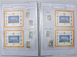 Sale 9098 - Lot 116 - A West Indian Cricket Stamp Album