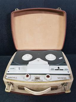Sale 9254 - Lot 2283 - Cased British Made BSR Reel Player/Recorder