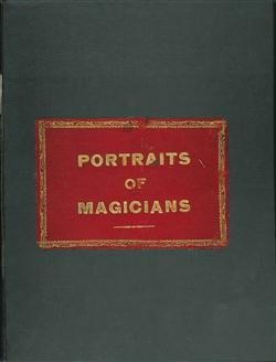 Sale 7919A - Lot 1814 - Book of Photographic Portraits, Photo Postcards & Photocopied Images of Magicians, some signed, compiled by E. A. Dearn
