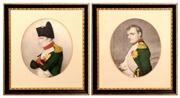 Sale 8127A - Lot 10 - A Pair of Various Early Framed Prints of Napoleon ,