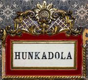 Sale 8222 - Lot 45 - A Hunkadola prop from Moulin Rouge, some losses, H 109