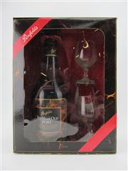 Sale 8403W - Lot 88 - 1x Penfolds Ten Year Old Port - gift box with glasses