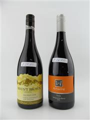 Sale 8439W - Lot 790 - 2x Wines - 1x 2016 Mount Brown Estates Pinot Noir, Canterbury; 1x 2016 Artwine Hols Tempranillo Blend, Clare Valley
