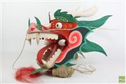 Sale 8494 - Lot 81 - Dragon Themed Chinese Kite In Box