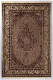 Sale 8800C - Lot 48 - A Persian Mood From Khorasan Region Very Fine 100% Wool And Silk Inlaid Pile, 200 x 300cm