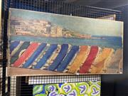 Sale 8936 - Lot 2091 - Artist Unknown - Views of Sydney, double sided acrylic on wooden board