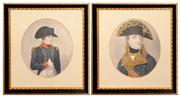 Sale 8127A - Lot 8 - A Pair of Various Early Framed Prints of Napoleon,