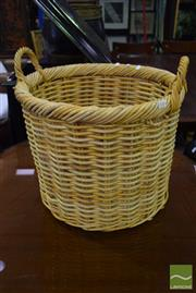 Sale 8523 - Lot 1085 - Wicker Basket