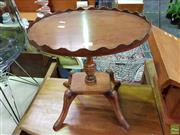 Sale 8566 - Lot 1183 - Timber Wine Table