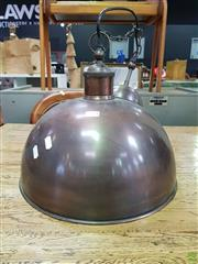 Sale 8611 - Lot 1073 - Copper Light Fitting