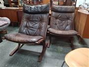 Sale 8872 - Lot 1067 - Pair of Siesta Chairs by Relling