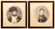 Sale 8127A - Lot 9 - A Pair of Various Early Framed Prints of Napoleon,