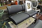 Sale 8127 - Lot 878 - Pair Of Small Lounge Chairs In Black