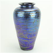 Sale 8393B - Lot 89 - Robert Wynne Art Glass Vase