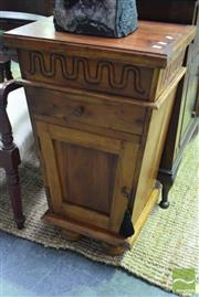 Sale 8523 - Lot 1091 - Timber Bedside