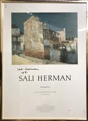 Sale 8824 - Lot 2005 - Sali Herman Art Gallery of NSW Exhibition Poster, signed and dated -