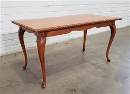 Sale 9151 - Lot 1350 - Timber coffee table (h:53 x w:105 x d:53cm)