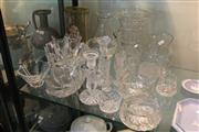 Sale 8379 - Lot 190 - Orrefors Crystal Bowls with Other Crystal incl. Jugs
