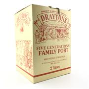 Sale 8553W - Lot 98 - 1x Draytons Five Generations Family Port, Hunter Valley - 2000ml crock in box with cork