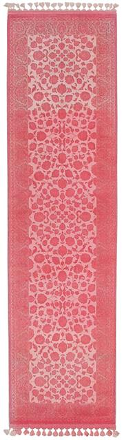 Sale 8651C - Lot 59 - Colorscope Collection; Wool And Viscose - Ovedyed Pink Runner Rug, Origin: Turkey, Size: 160 x 230cm, RRP: $999
