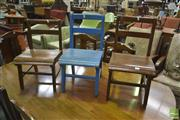 Sale 8257 - Lot 1058 - Selection of Kids Chairs (3)