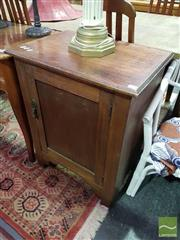 Sale 8532 - Lot 1044 - Timber Pot Cupboard