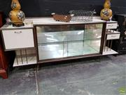 Sale 8629 - Lot 1004 - Vintage Glass Front Sideboard with Light Up Display